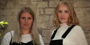 Systrarna Hanna och Emmy Ingesson spelar i Knåda Missionshus den 21 december. Foto: Ida Uddas Sigfridsson