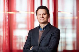 Tero Marjamäki är pressansvarig på Blocket. Foto: Pressbild