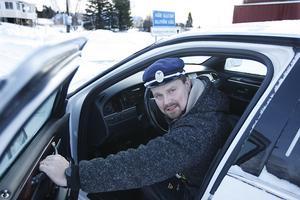 Berne Brenje kör ofta de tio milen till Östersund-Frösön för att hämta gäster på flyget eller eller centralstationen.