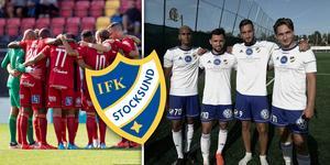 ÖSK ställs mot unga IFK Stocksund i Svenska cupen. Bild: TT/IFK Stocksund/Montage