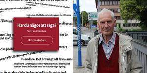 Med ett förflutet som socialdemokrat med en snabb visit i Junilistan-lägret har Olle Ljungbeck under de senaste 30 åren skrivit insändare till olika tidningar.