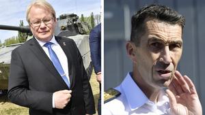 Försvarsminister Peter Hultqvist kommer under dagen, tillsammans med överbefälhavare Micael Bydén, att komma till Sveg. Vid 14.30-tiden ordnas det upp så att media kan ställa sina frågor till de båda, gällande den pågående insatsen.