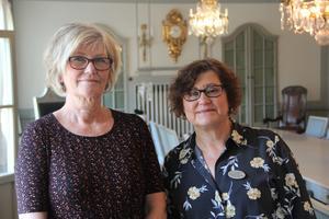 Annika Strand, kommundirektör och Christina Lundgren (C) kommunalråd tror att Hedemora kommun kan gå ur 2020 med ett överskott.