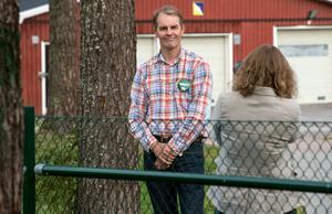 Niklas Edén (C) vill behålla backen men minska stödet.