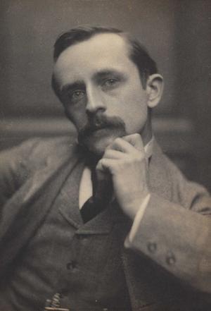 J. M. Barrie 32 år gammal 1892.Foto: Frederick Hollyer