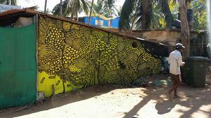 Graffitimålning av Jonathan Josefsson.