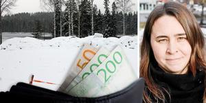Linda-Marie Anttila (S) berättar att hotet om vite är för att säkerställa att ägarna ska bygga en bostad på tomten.