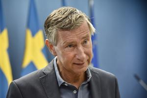 Sveriges vaccinsamordnare Richard Bergström. FOTO: Fredrik Sandberg/TT
