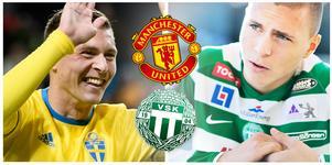Victor Nilsson Lindelöf via VSK till landslaget och Benfica och sedan till Manchester United.
