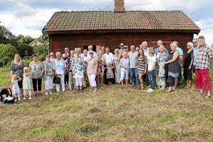 Släktträff. Runt 50 personer dök upp på släktträffen när Bill och Andy Billinge besökte Sverige.