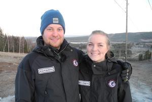 Kalle Hansols och Rebecca Elmqvist har precis startat upp tredje säsongen av Svärdsjöliften.