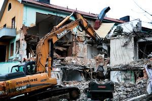 I januari 2014 revs huset av kommunen till en kostnad av 1 629 068 kronor. Foto: Peter Ohlsson