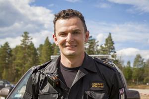 Grzegorz Borowiec är kapten och biträdande teamledare för det polska brandsförsvarets markstyrka som bor på idrottsplatsen i Sveg.
