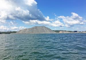 Grushögen i Norvik nästan Nynäshamns högsta punkt.