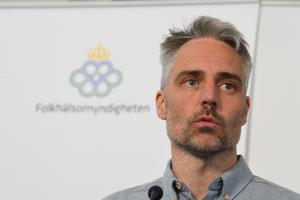 Anders Wallensten, biträdande statsepidemiolog på Folkhälsomyndigheten. FOTO: Fredrik Sandberg/TT.