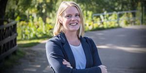 Julia Engström, Fagersta-Postens chefredaktör.