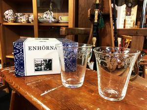 Ikea-glasen Enhörna är kopior på 1700-talsglas och såldes i 2-pack på Ikea på 90-talet.