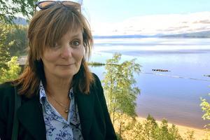 Gunilla Kindstrand var med i Orbaden – hon är en av Sveriges Radio P1:s sommarvärdar. Den 24 juli ska hon tala om sin hemort Delsbo.
