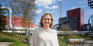Karin Medin, vd för Söderenergi AB.