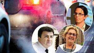 En tredjedel av alla utsläpp kommer från vägtrafiken, något som riksdagen arbetar aktivt för att motverka. Ändå är det inte någon  av de riksdagsledamöter som är bilägare i Västernorrland som kör fordon med förnybara drivmedel.