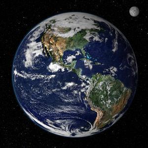 I dag är jorden en planet där kontinenterna delvis är gröna på grund av växtligheten. Men innan växterna erövrade land för drygt 400 miljoner år sedan måste kontinenterna ha haft samma utseende som de torraste delarna av Sahara.    NASA