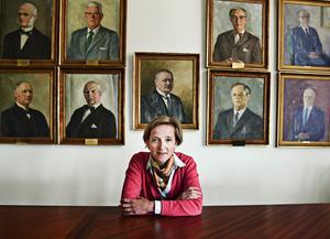 Lovisa Hamrin, styrelseordförande i Hall Media.