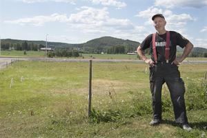 Jordbrukaren Lennart Hellström i Haffsta tycker att det är viktigt att alla röstar och har en åsikt.