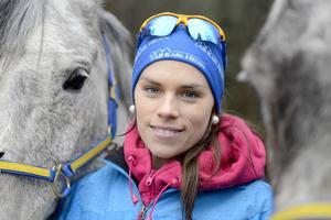 Annelie Eriksson tror att den kuperade VM-banan kommer att passa henne och det svenska laget.