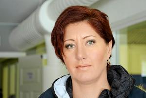 Larissa Karlsson (SD). Ny i kommunfullmäktige.