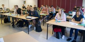 Eleverna som nu börjat studera på en YH-utbildning till produktionstekniker. Till sommaren 2021 är de färdigutbildade.