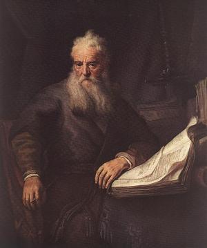 Paulus, målning av Rembrandt från 1633.