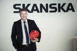 Anders Danielsson, vd för Skanska. Arkivbild.