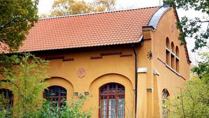 Det gamla elverket på Estö.