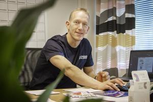 Björn Lans hoppas att Föreningsalliansen ska kunna hjälpa kommunens dansaktörer att få tillgång till danslokalen på Heden.