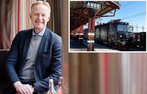Terje Andreassen ser fram emot torsdagens besök i Ånge då han ska träffa Webhelps blivande personal.Foto: Pressbild
