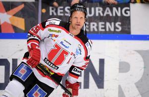 Christoffer Norgren avslutade en lång och framgångsrik elitkarriär med fyra år i Örebro Hockey, som han var med och tog upp i SHL och såg till att kvala kvar debutsäsongen. Bild: TT