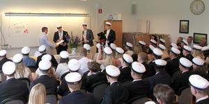 Många stipendier delades ut den 5 juni 2019. Foto: Ösby naturbruksgymnasium