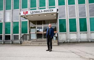 Tomas Froms, tillförordnad chefredaktör för Ljusdals-Posten..