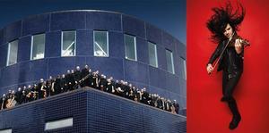 Nemanja Radulović är solist i Tjajkovskijs violinkonsert med Gävle Symfoniorkester under ledning av  Jessica Cottis i Gävle Konserthus torsdag kväll på torsdag och Bollnäs kulturhus på fredag. Bild: Nikolaj Lund och pressbild