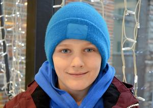 Frans Broman, 10 år, Tunbyn: