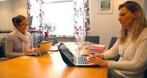 Inga-Lena Spansk, skolchef för- och grundskoleförvaltningen och Rose-Marie Bogg, C), ordförande i För- och grundskolenämnden i Mora.