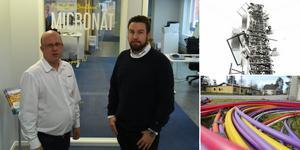 Micronäts VD, Jonas Hellström och säljchefen Johan Witzansky ställer sig frågande till kommunens agerande.