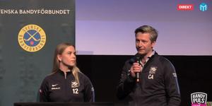 Agnes Ögren och Christer Andersson.