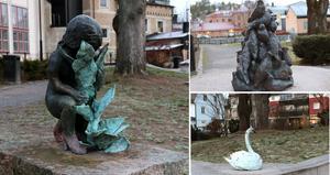 Låt Klara Kristalovas skulpturgrupp fortsätta pryda Gustav Adolfs park. Låt krigarkungen Gustav Adolf vila i frid. Han tillför inget som behövs för att skapa dialog kring våra framtidsutmaningar, skriver Mats Wedberg.