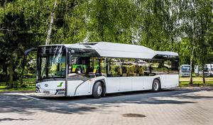 De nya gasdrivna bussarna kommer att lackas i gult.
