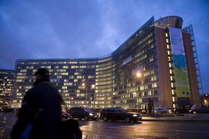 Här i EU-kommissionens högsäte sker en stor del av det påverksansarbete som Martin Karlsson och hans kollegor bedriver i Bryssel för Jämtlands och Västernorrlands räkning. Foto Henrik Montgomery / SCANPIX