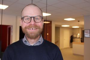 Niclas Andersson, fastighetsmäklare på Fastighetsbyrån i Fagersta.
