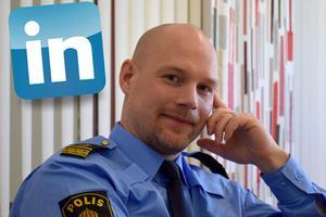 Andreas Zehlander är en fena på sociala medier.