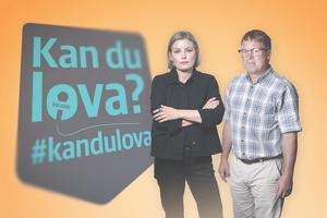 Mathilda Svensson och Torbjörn Ingvarsson håller i valdebatten i Nordanstig.