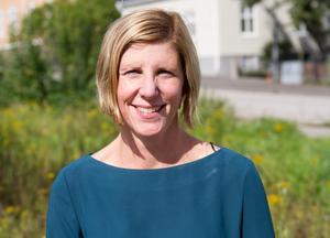 Linda Larsson är tillförordnad vd för det kommunala bostadsbolaget Faxeholmen i Söderhamn.